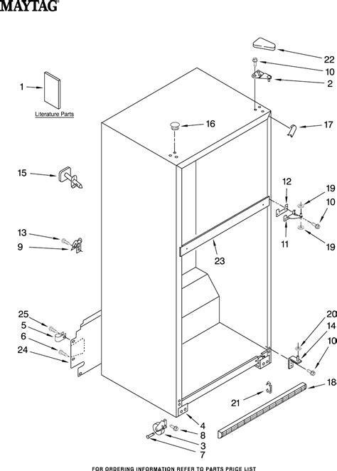 Maytag Refrigerator M1TXEMMWW00 User Guide   ManualsOnline.com