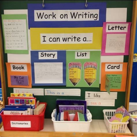 17 best ideas about preschool writing centers on 384 | 2f0c1bb239a2ba98c69a2ba20cd42f7d