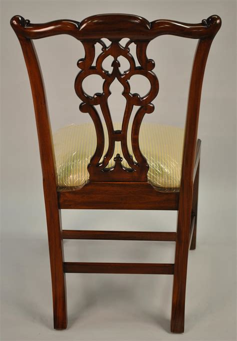 antique discount wood dining chairs mahogany