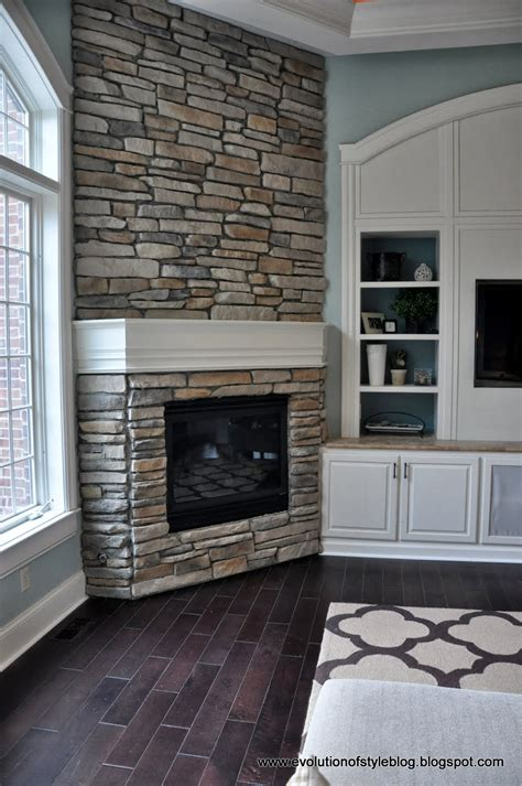 Diy Stone Fireplace Reveal (for Real!)  Evolution Of Style. Lyon Shaw Patio Furniture Replacement Cushions. Porch Swing Into Bench. Zen Style Outdoor Furniture. Porch Swing And Glider
