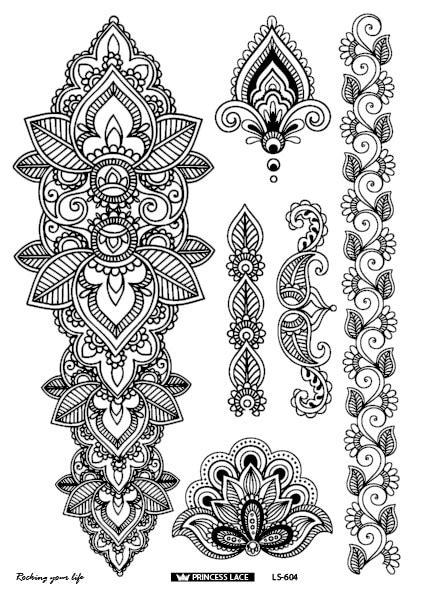 ls latest  eco friendly henna temporary body tatoo