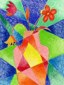 Abstract Flower Drawing | Art Projects for Kids
