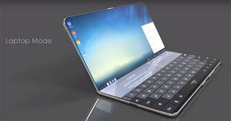 Galaxy X  Le Design Séduisant Du Smartphone Pliable Se