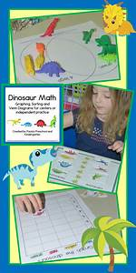 Dinosaur Math Graphing  Sorting And Venn Diagram Centers