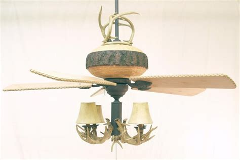 great lodge ceiling fan rustic lighting and fans