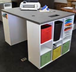 25 best ideas about craft desk on craft room storage white craft room and craft rooms