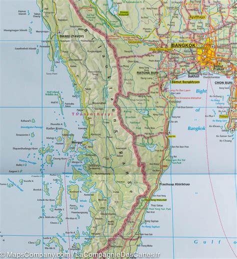 Thailande Carte Geographique Monde by Thailande Carte Geographique Photo Du Monde