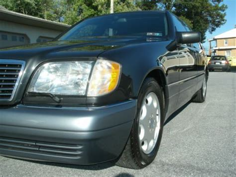 Mercedes s600 v12 clean ride and fast. Sell used 1995 Mercedes-Benz S600 V12 Auto Complete ...