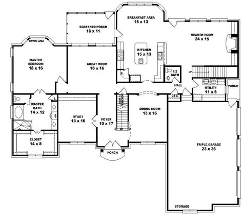 5 bedroom floor plans 2 5 bedroom house plans 2 photos and