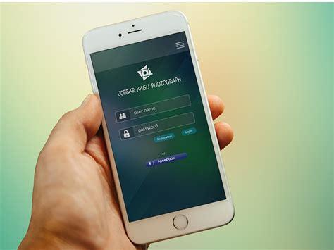 login iphone iphone app login page design free psd free psd ui