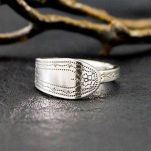 spoon ring silver cutlery ring thumb spoon ring trendy With spoon wedding rings