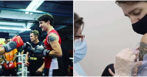 In a tweet, justin shared that he got the tattoo when he was 23 from a tattoo artist in thailand. Justin Trudeau Has Shown Off His Arm Tattoo Over The Years & Here Are Photos To Prove It ...