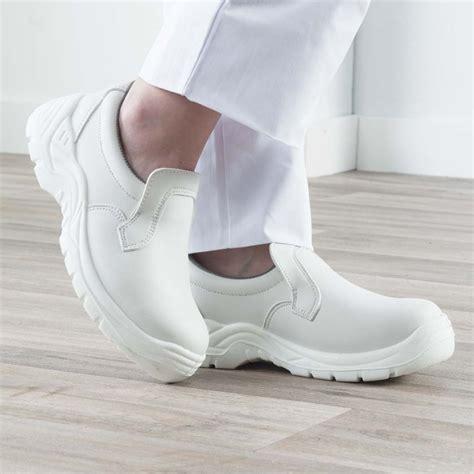 chaussures cuisine professionnelles chaussure de cuisine blanche de securite label blouse