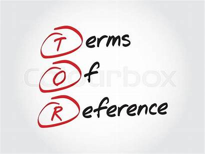 Reference Terms Vector Tor Business Acronym Colourbox