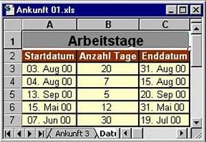 Excel Wochentag Berechnen : 16 datum und zeit ~ Themetempest.com Abrechnung