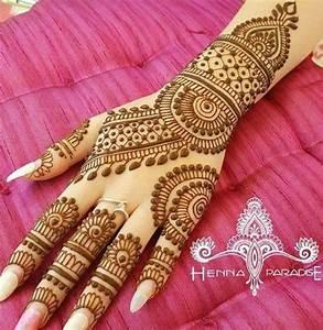 Latest Stylish Wedding Henna Mehndi Designs Gallery 2017 ...
