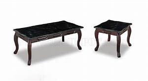 coffee tables ideas modern black marble coffee table set With granite coffee table set