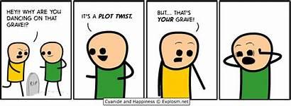 Plot Happiness Cyanide Comics Twist Explosm Funny