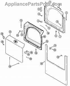 Parts For Maytag Mde3000ayw  Door Parts