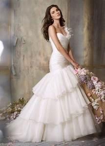 new one shoulder white organza bridal wedding dress custom With wedding dresses size 12 14