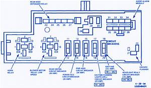 Lumina Van 2001 Main Fuse Box  Block Circuit Breaker