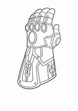 Gauntlet Infinity Coloring Marvel Google Legends Series sketch template