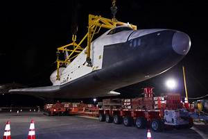 Space Shuttle Enterprise Demated from NASA Shuttle Carrier ...