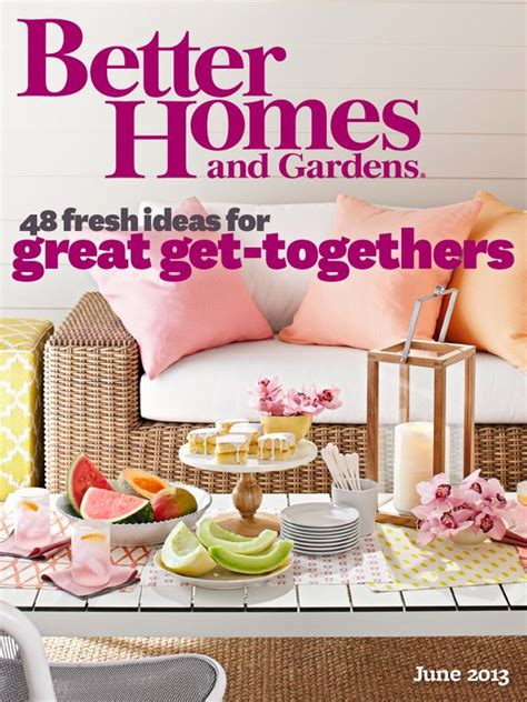The Sweetest Occasion In Better Homes & Gardens The