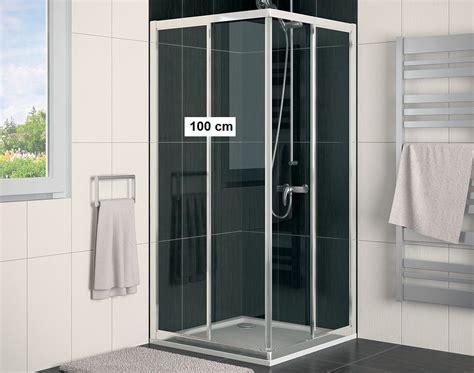 dusche 80 x 100 duschkabine schiebet 252 r 100 x 80 eckeinstieg 2 teilig echtglas