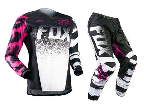 motocross gear for girls fox mx gear new 2015 180 youth black pink kids mtb bmx