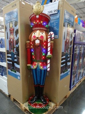 lighted nutcracker costco  christmas
