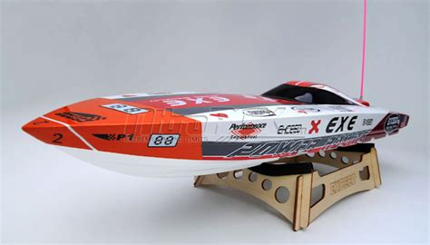 Rc Boat Hardware Package by Exceed Racing Electric Powered Fiberglass V 720mm Rc