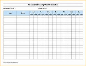 bar cleaning checklist thecarpetsco With bartender schedule template