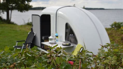 wide path bicycle camper    airstream  cyclists