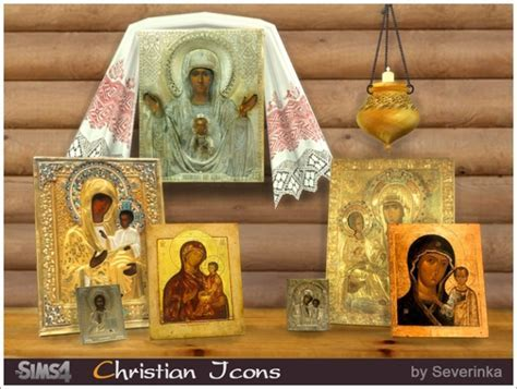 Christian icons at Sims by Severinka » Sims 4 Updates