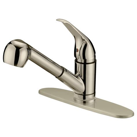lesscare single handle pull out kitchen faucet reviews