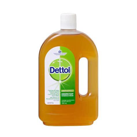 jual dettol cair antiseptik 750 ml harga kualitas terjamin blibli