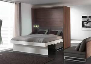 Modernes Schlafzimmer Einrichten : modernes schlafzimmer einrichten klappbette raumsparende ~ Michelbontemps.com Haus und Dekorationen