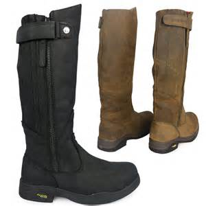 womens boots for walking kanyon gorse x rider country waterproof walking stable leather boots ebay