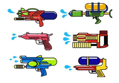 water gun clipart free water gun vector free vector stock