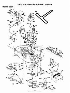 Ayp  Electrolux Ct14542a  1995  Parts Diagram For Mower Deck