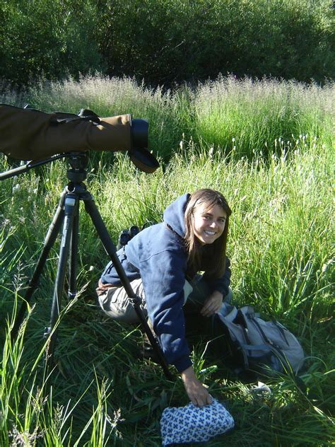 Birds and Barbells: Good Qualities of a Wildlife Biologist