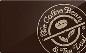 Buy The Coffee Bean & Tea Leaf Gift Cards | Raise
