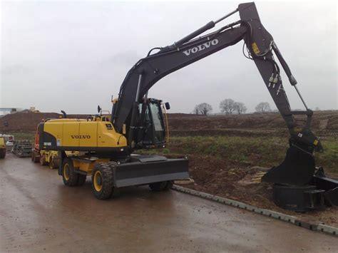 Excavator Volvo Ew 180