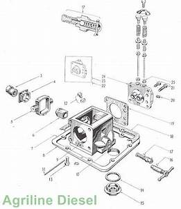 Ferguson Tea20 Hydraulic Pump Detail
