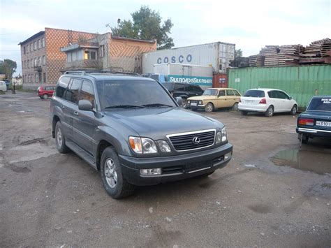 Used 2000 Lexus Lx470 Photos 4700cc Gasoline Automatic