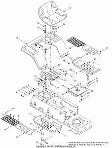Troy Bilt 13aj689g766 Tuffy  2004  Parts Diagram For Fender  U0026 Seat