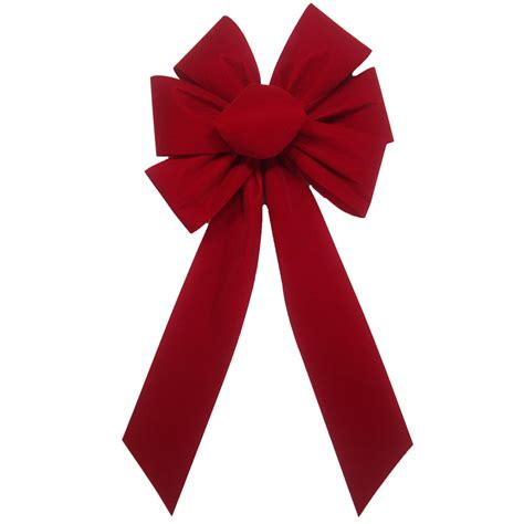 hand tied bows outdoor christmas bows outdoor berry