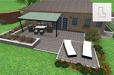 Sichtschutz Garten Steinplatten by Steinplatten Terrasse Popular Sichtschutz Terrasse Garten