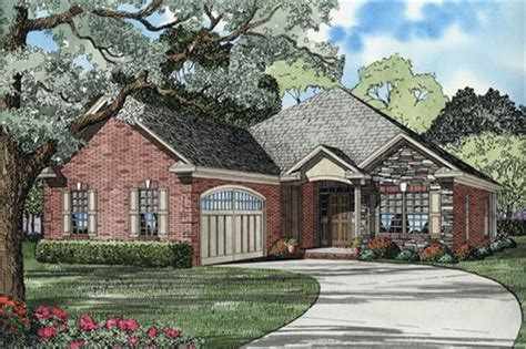 french country ranch plan  bedrms  baths  sq ft